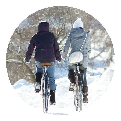 Pyöräily Talvella
